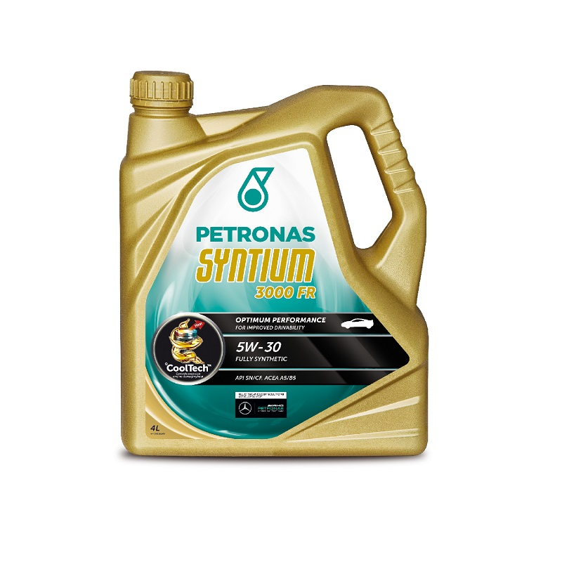 """Petronas Syntium 3000FR 5w30 """"Ford Approved"""" (4LITRES)"""