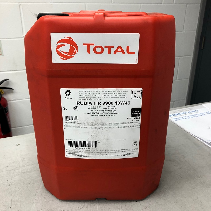Total Rubia TIR9900 10w40 Engine Oil 20 litres